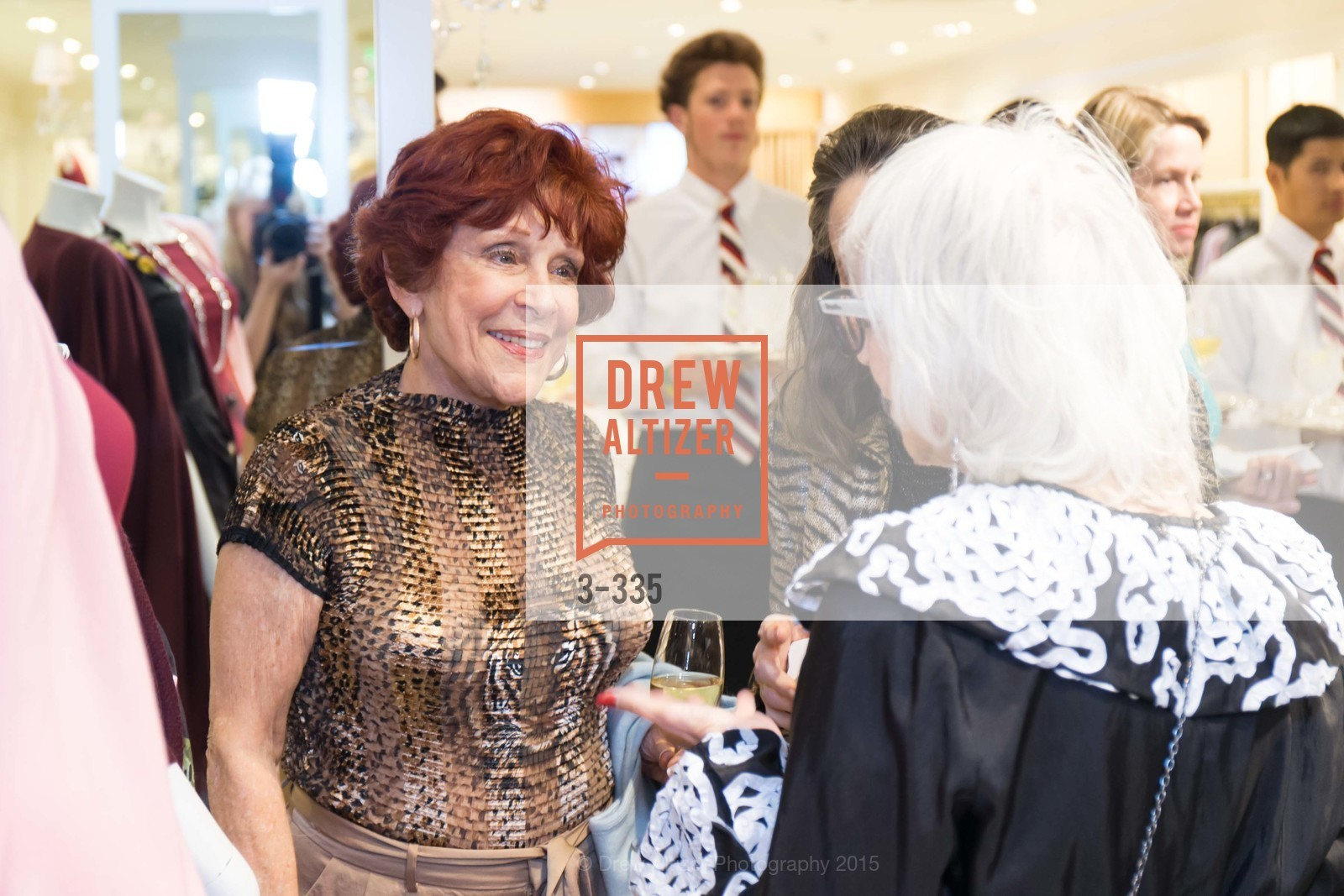 Liz Shaw, Launch Party for The San Francisco Fall Antiques Show, Brooks Brothers. 240 Post St, October 1st, 2015