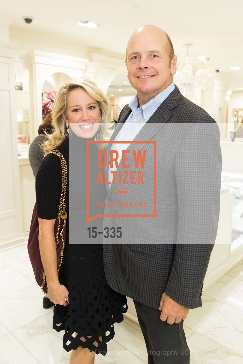 Elizabeth Johnson, Don James, Launch Party for The San Francisco Fall Antiques Show, Brooks Brothers. 240 Post St, October 1st, 2015,Drew Altizer, Drew Altizer Photography, full-service event agency, private events, San Francisco photographer, photographer California