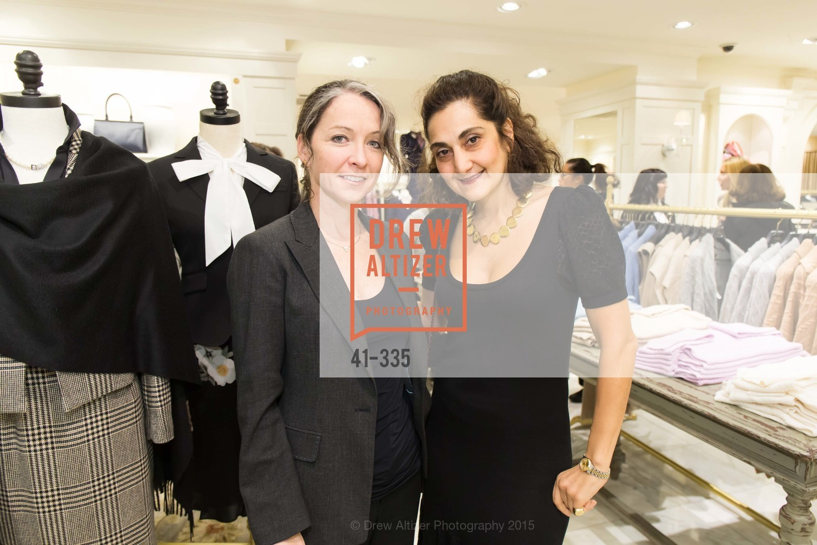 Alexandra Sangmeister, Fati Farmanfarmaian, Launch Party for The San Francisco Fall Antiques Show, Brooks Brothers. 240 Post St, October 1st, 2015,Drew Altizer, Drew Altizer Photography, full-service agency, private events, San Francisco photographer, photographer california