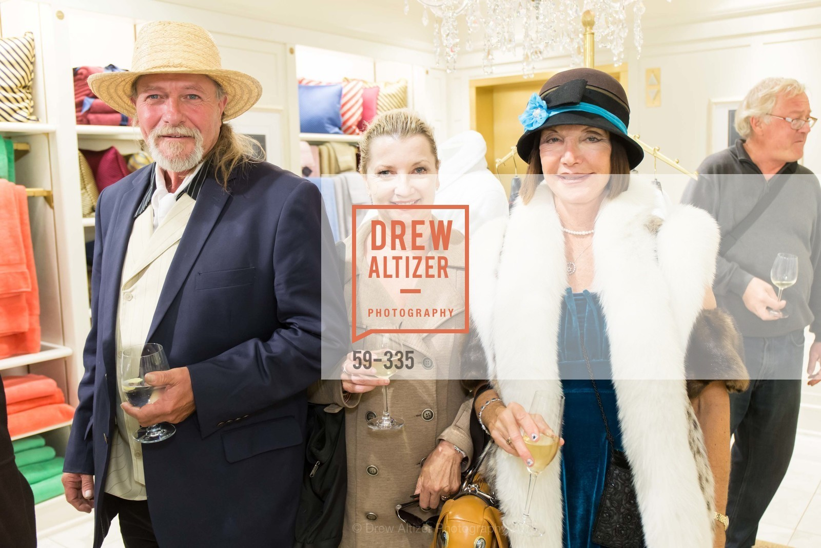 JC, Linda Ring, Sheila Ash, Launch Party for The San Francisco Fall Antiques Show, Brooks Brothers. 240 Post St, October 1st, 2015,Drew Altizer, Drew Altizer Photography, full-service agency, private events, San Francisco photographer, photographer california