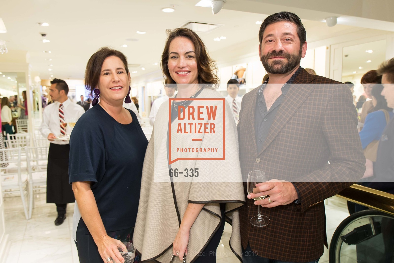 Hilary Sessions, Krista Coupar, Nick Ciagencini, Launch Party for The San Francisco Fall Antiques Show, Brooks Brothers. 240 Post St, October 1st, 2015,Drew Altizer, Drew Altizer Photography, full-service agency, private events, San Francisco photographer, photographer california