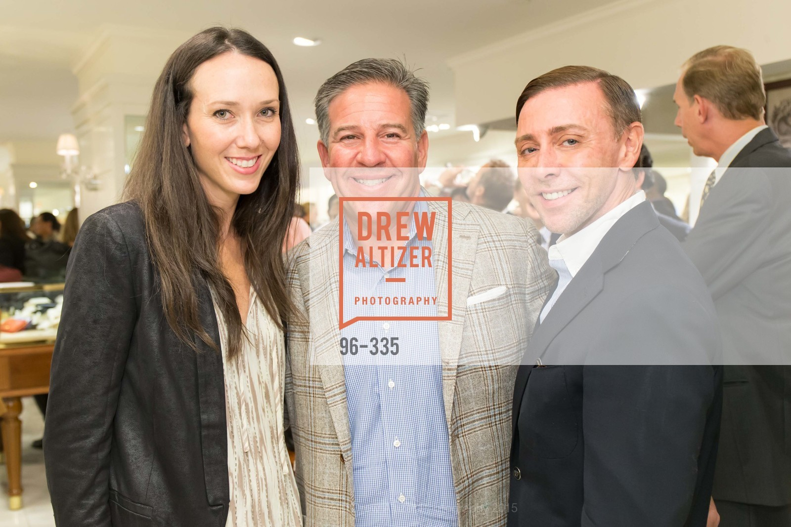 Ali Grosslight, Greg Lynn, Mark Rhoades, Launch Party for The San Francisco Fall Antiques Show, Brooks Brothers. 240 Post St, October 1st, 2015,Drew Altizer, Drew Altizer Photography, full-service agency, private events, San Francisco photographer, photographer california