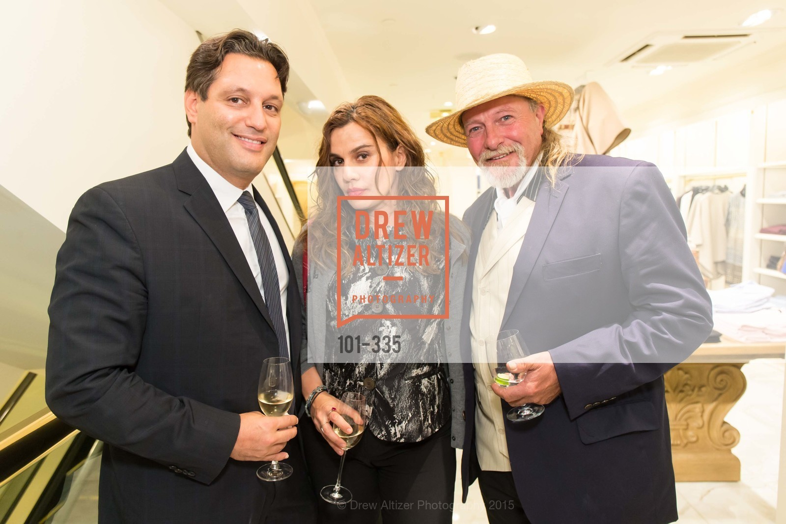 Joel Cobert, Maya Gervis, JC, Launch Party for The San Francisco Fall Antiques Show, Brooks Brothers. 240 Post St, October 1st, 2015,Drew Altizer, Drew Altizer Photography, full-service agency, private events, San Francisco photographer, photographer california