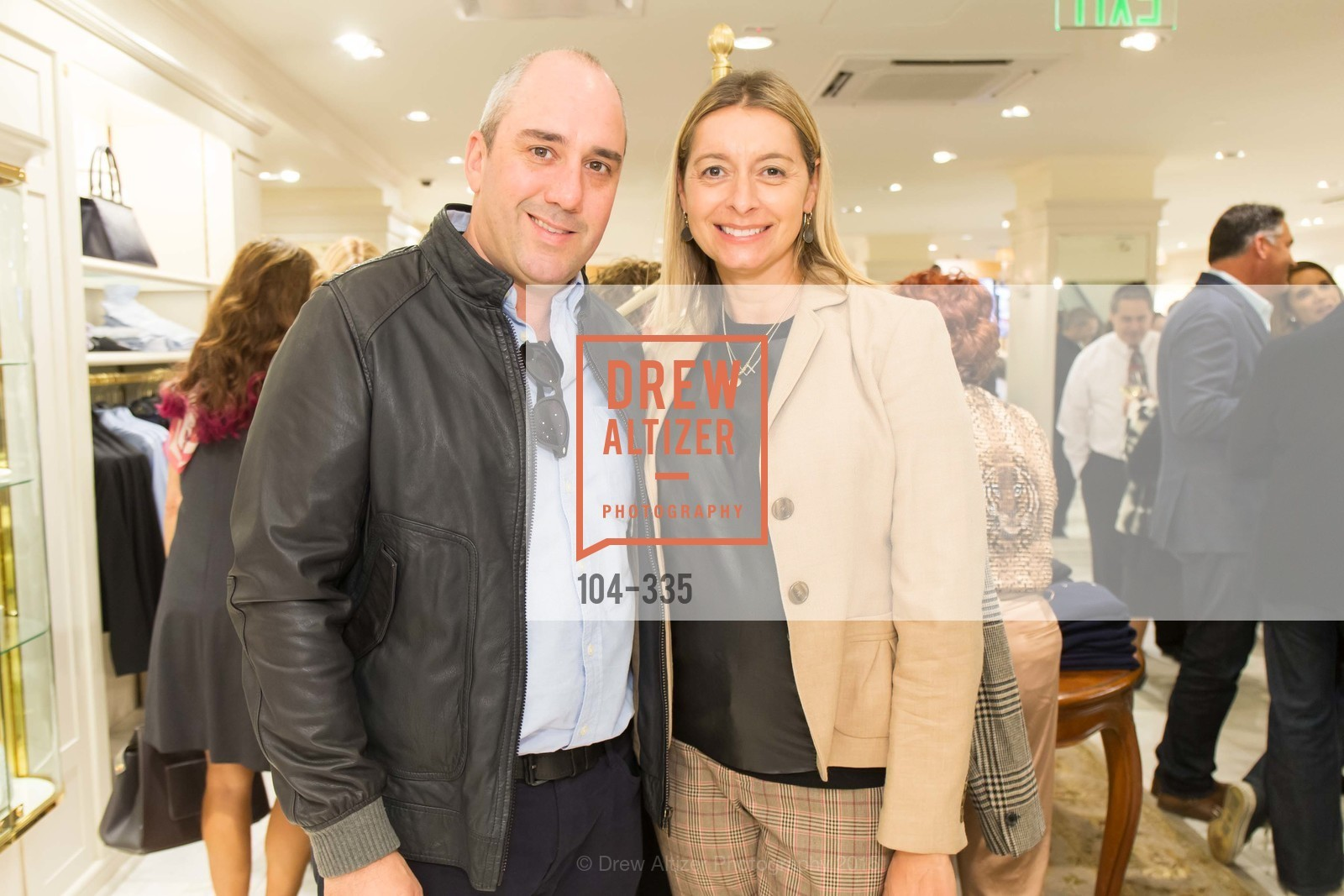 Gil Padia, Laura Wharton, Launch Party for The San Francisco Fall Antiques Show, Brooks Brothers. 240 Post St, October 1st, 2015,Drew Altizer, Drew Altizer Photography, full-service event agency, private events, San Francisco photographer, photographer California