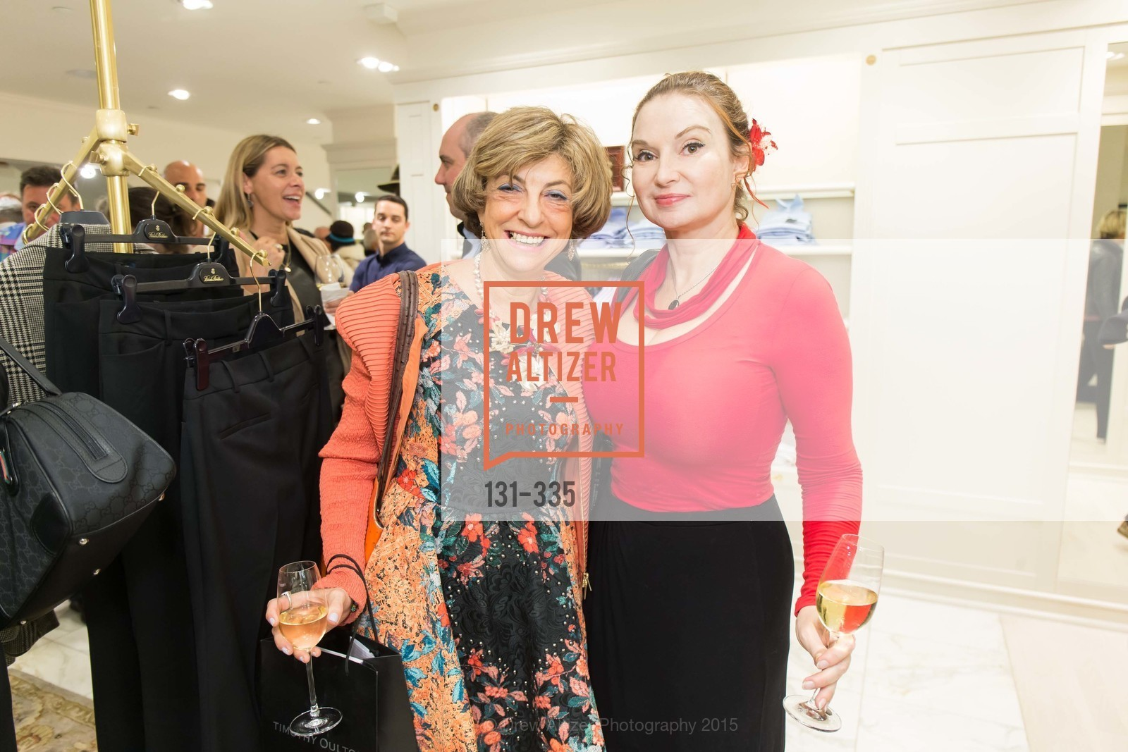 Ludmila Eggleton, Milada Belaya, Launch Party for The San Francisco Fall Antiques Show, Brooks Brothers. 240 Post St, October 1st, 2015,Drew Altizer, Drew Altizer Photography, full-service agency, private events, San Francisco photographer, photographer california