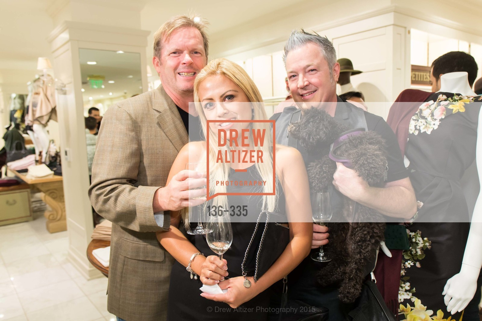 Tom Sovine, Ashley Sovine, James Wooper, Launch Party for The San Francisco Fall Antiques Show, Brooks Brothers. 240 Post St, October 1st, 2015,Drew Altizer, Drew Altizer Photography, full-service agency, private events, San Francisco photographer, photographer california