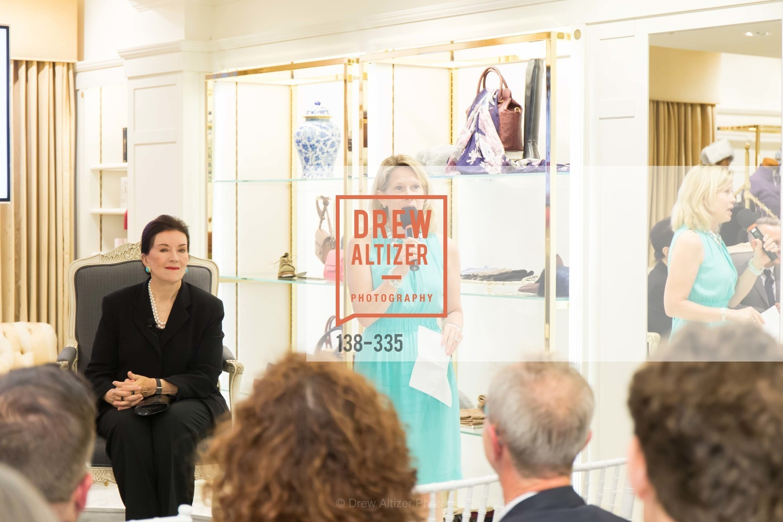 Ariane Trimuschat, Launch Party for The San Francisco Fall Antiques Show, Brooks Brothers. 240 Post St, October 1st, 2015,Drew Altizer, Drew Altizer Photography, full-service agency, private events, San Francisco photographer, photographer california