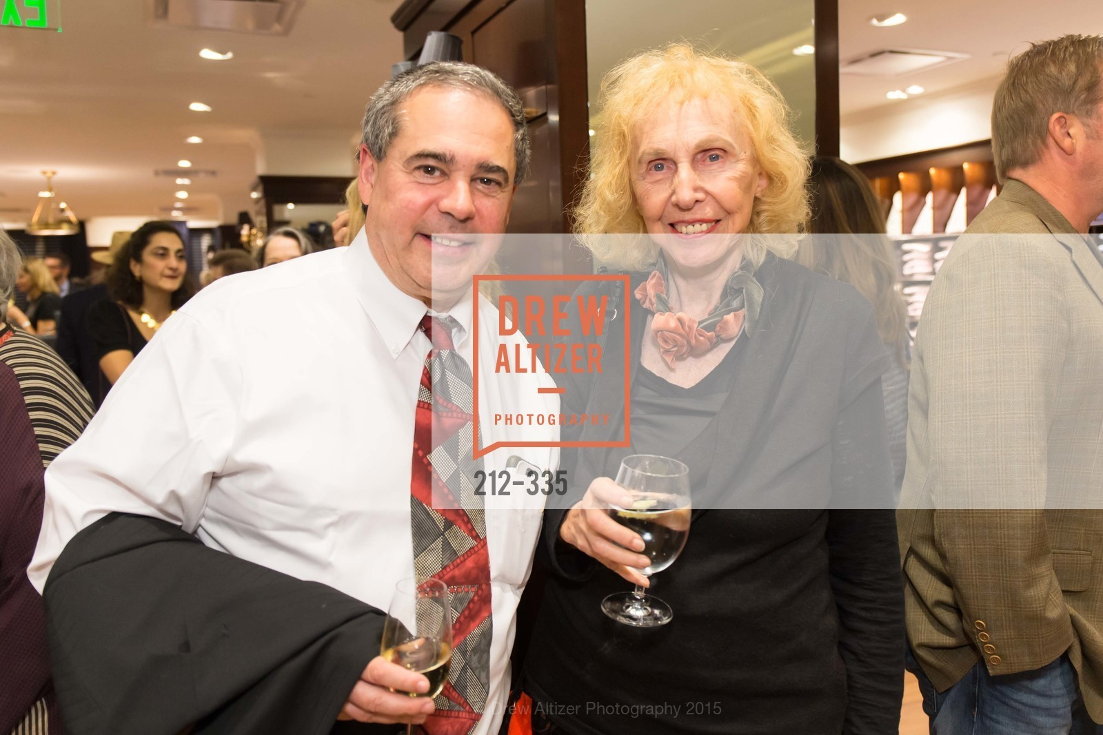 Glenn Toth, Gretta Gordon, Launch Party for The San Francisco Fall Antiques Show, Brooks Brothers. 240 Post St, October 1st, 2015,Drew Altizer, Drew Altizer Photography, full-service agency, private events, San Francisco photographer, photographer california