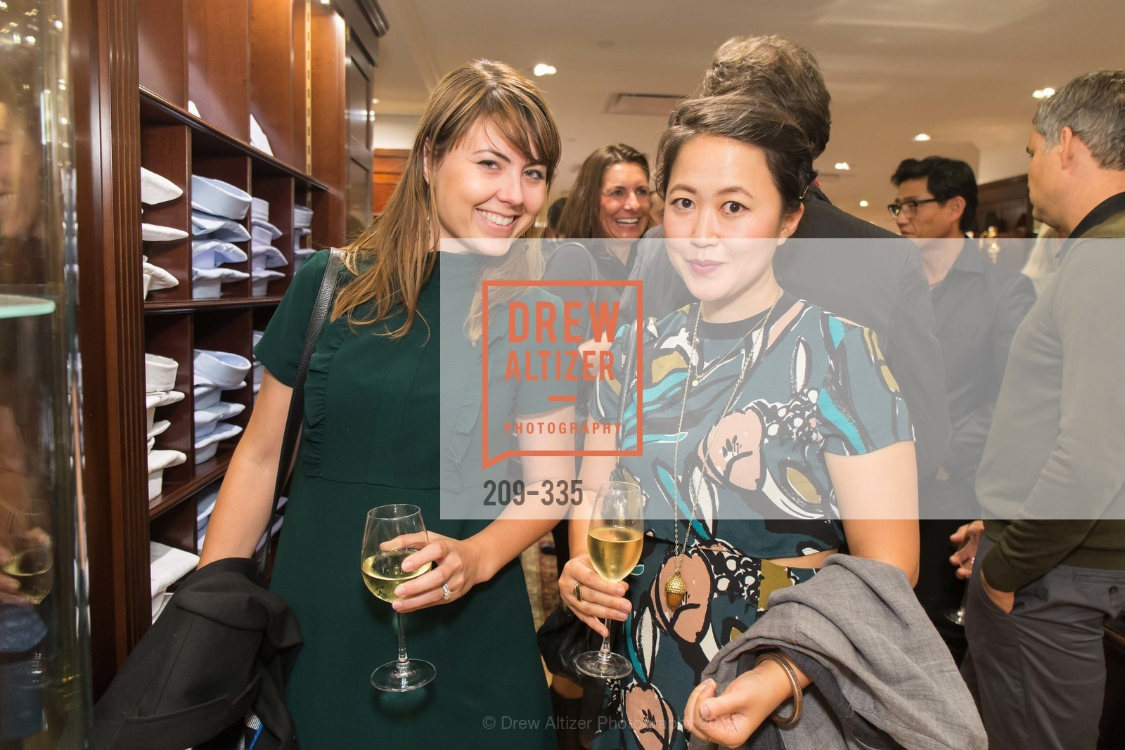 Jean Park, Launch Party for The San Francisco Fall Antiques Show, Brooks Brothers. 240 Post St, October 1st, 2015,Drew Altizer, Drew Altizer Photography, full-service agency, private events, San Francisco photographer, photographer california