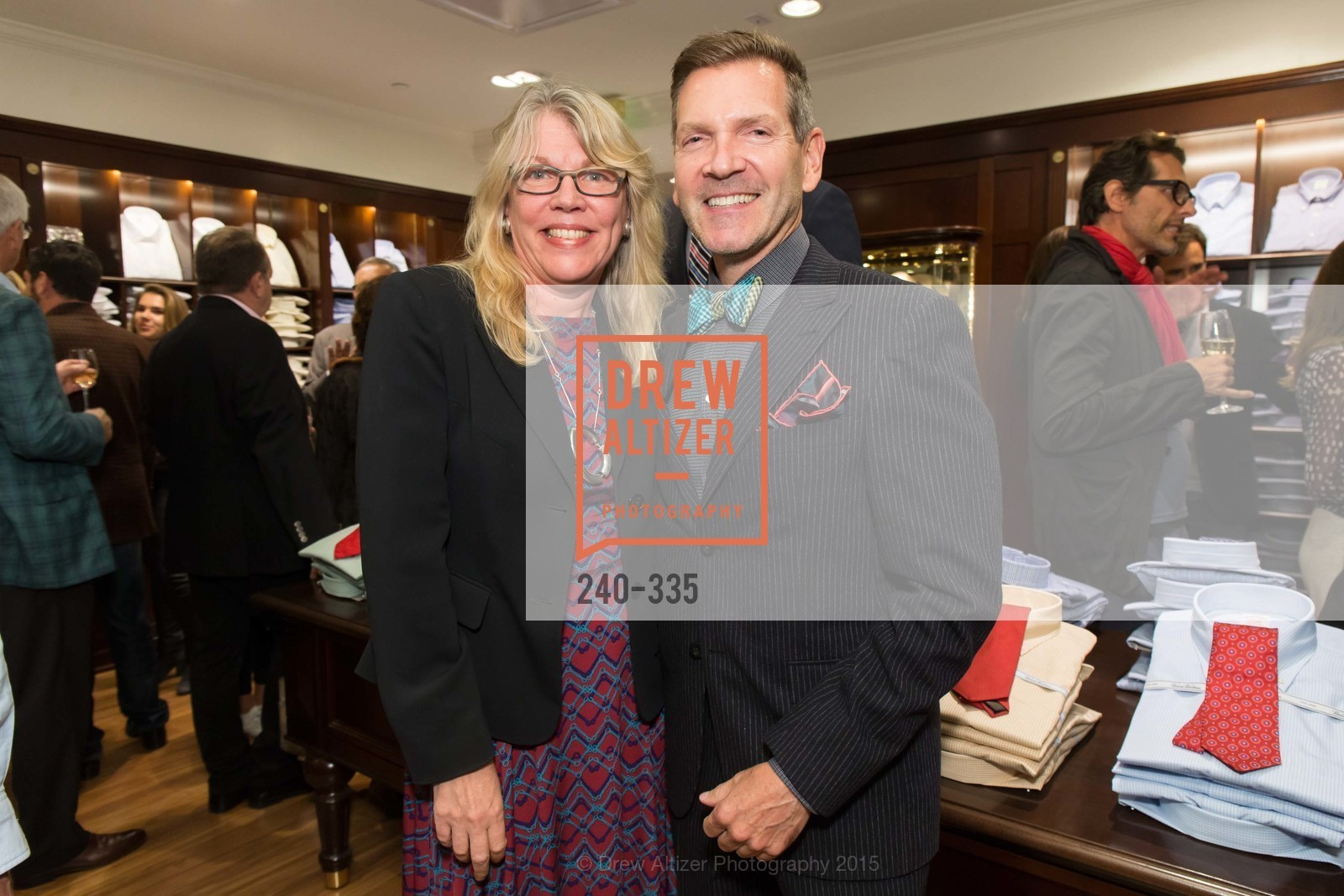 Rachel Crater, Eric Petsinger, Launch Party for The San Francisco Fall Antiques Show, Brooks Brothers. 240 Post St, October 1st, 2015,Drew Altizer, Drew Altizer Photography, full-service agency, private events, San Francisco photographer, photographer california