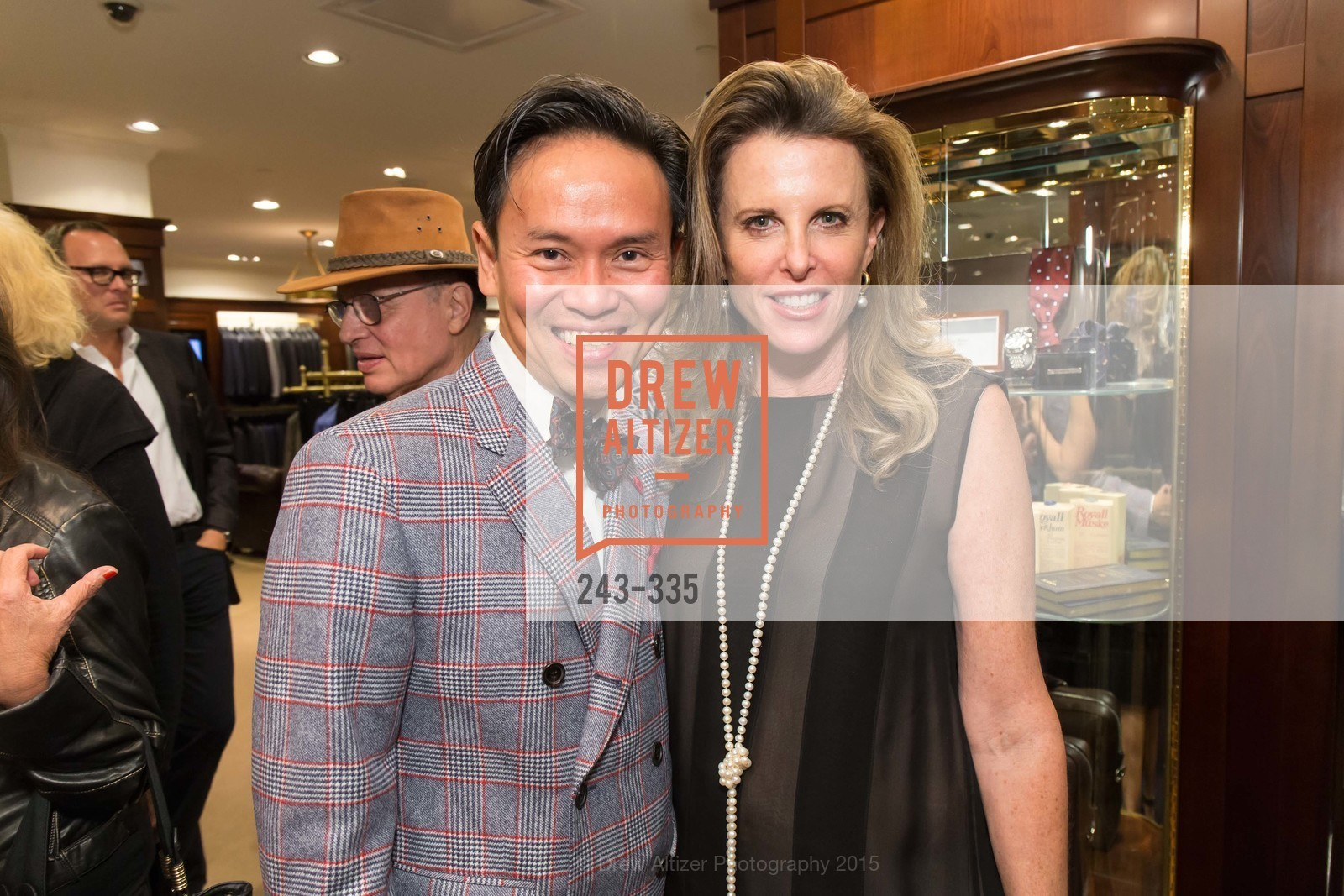 Jonathan Rachman, Faith Wheeler, Launch Party for The San Francisco Fall Antiques Show, Brooks Brothers. 240 Post St, October 1st, 2015,Drew Altizer, Drew Altizer Photography, full-service agency, private events, San Francisco photographer, photographer california