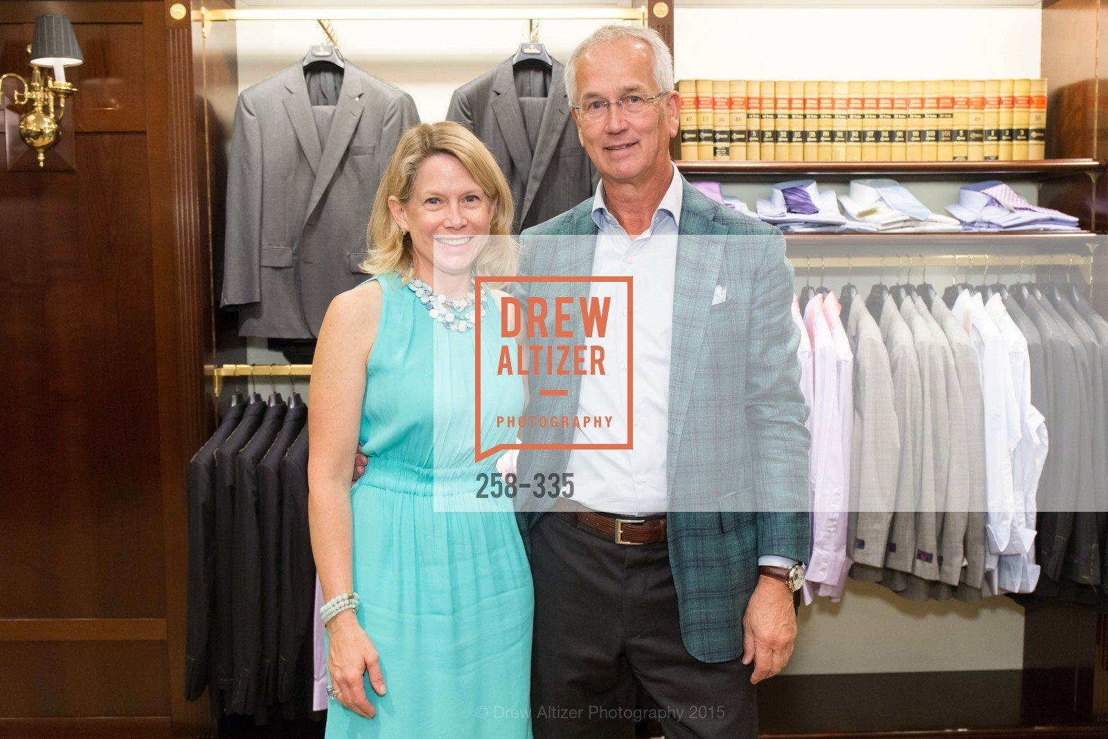 Ariane Trimuschat, Mark Pederson, Launch Party for The San Francisco Fall Antiques Show, Brooks Brothers. 240 Post St, October 1st, 2015,Drew Altizer, Drew Altizer Photography, full-service agency, private events, San Francisco photographer, photographer california