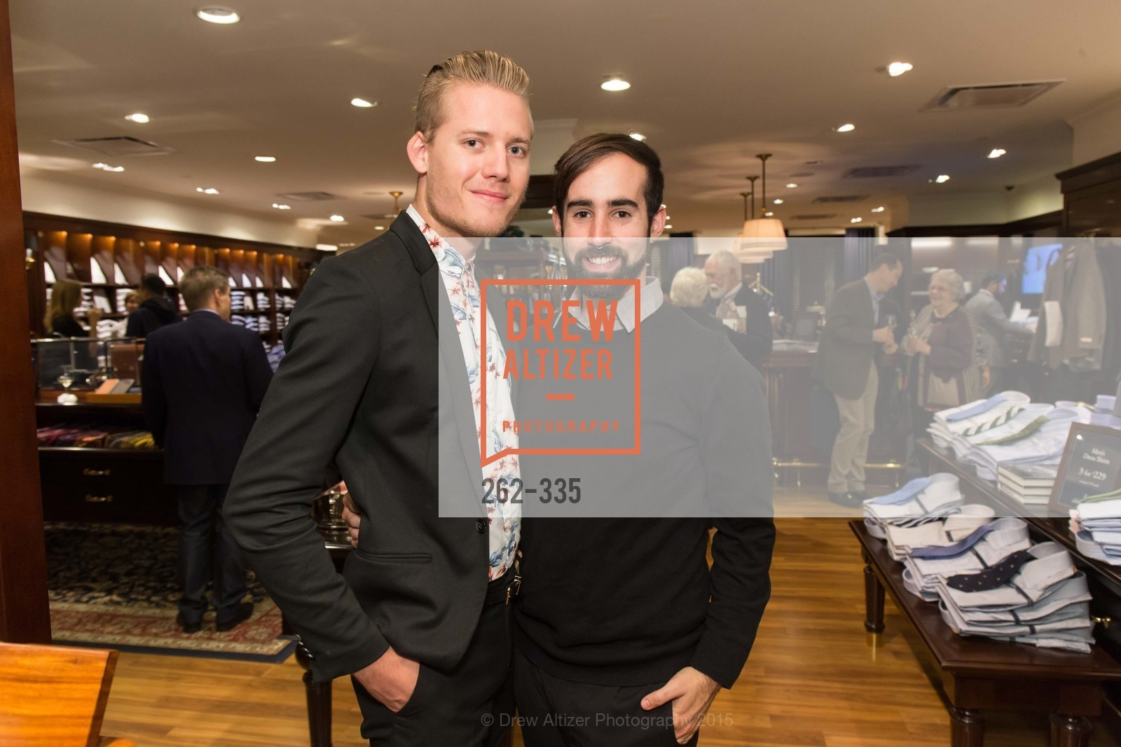 Mark Olson, Joseph Jorajuria, Launch Party for The San Francisco Fall Antiques Show, Brooks Brothers. 240 Post St, October 1st, 2015,Drew Altizer, Drew Altizer Photography, full-service agency, private events, San Francisco photographer, photographer california