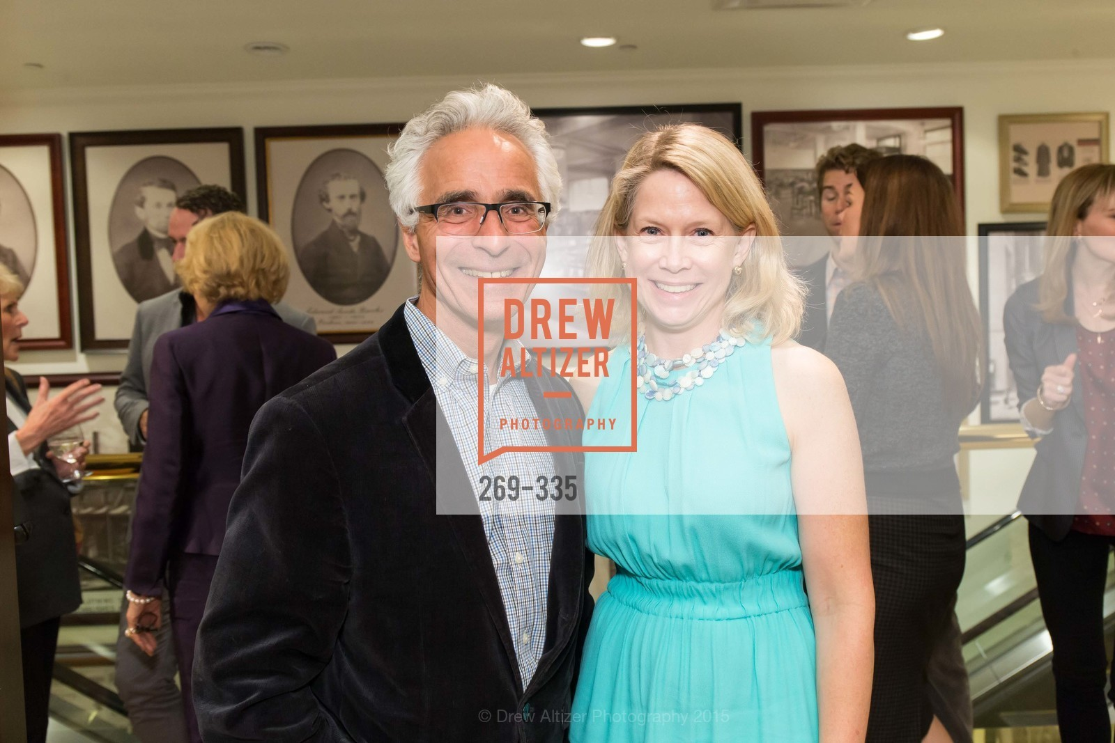 Tony DiStefano, Ariane Trimuschat, Launch Party for The San Francisco Fall Antiques Show, Brooks Brothers. 240 Post St, October 1st, 2015,Drew Altizer, Drew Altizer Photography, full-service agency, private events, San Francisco photographer, photographer california