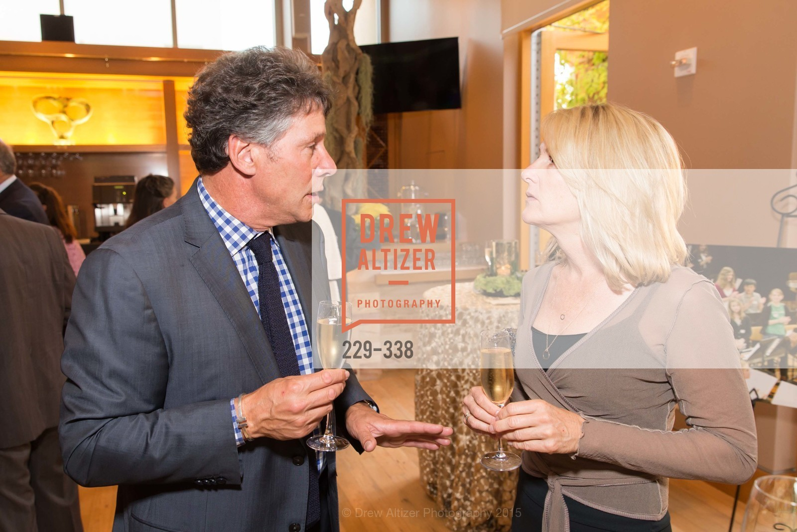 Bill Cascio, Ellen Riendeau, Weill Hall  2015 Season Opening Gala At Sonoma State University, Sonoma State Green Music Center, Weill Hall. 1801 E Cotati Ave, October 3rd, 2015,Drew Altizer, Drew Altizer Photography, full-service event agency, private events, San Francisco photographer, photographer California