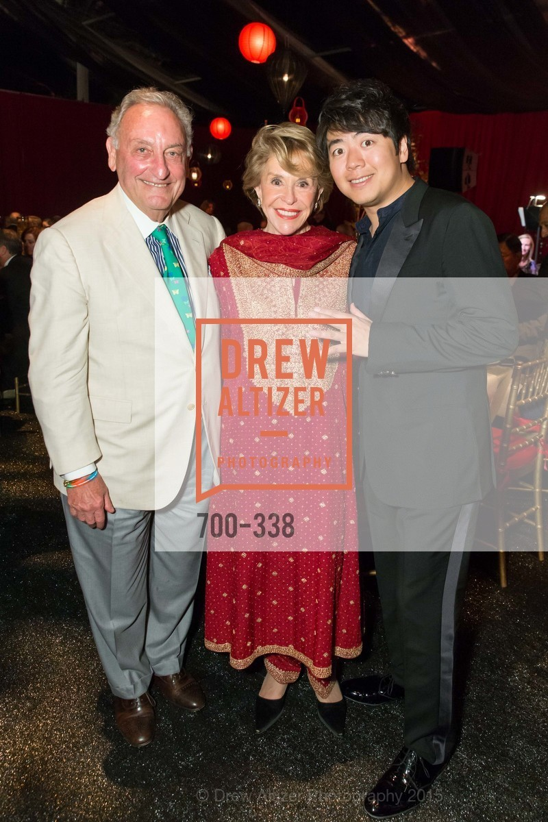 Sandy Weill, Joan Weill, Lang Lang, Weill Hall  2015 Season Opening Gala At Sonoma State University, Sonoma State Green Music Center, Weill Hall. 1801 E Cotati Ave, October 3rd, 2015,Drew Altizer, Drew Altizer Photography, full-service agency, private events, San Francisco photographer, photographer california