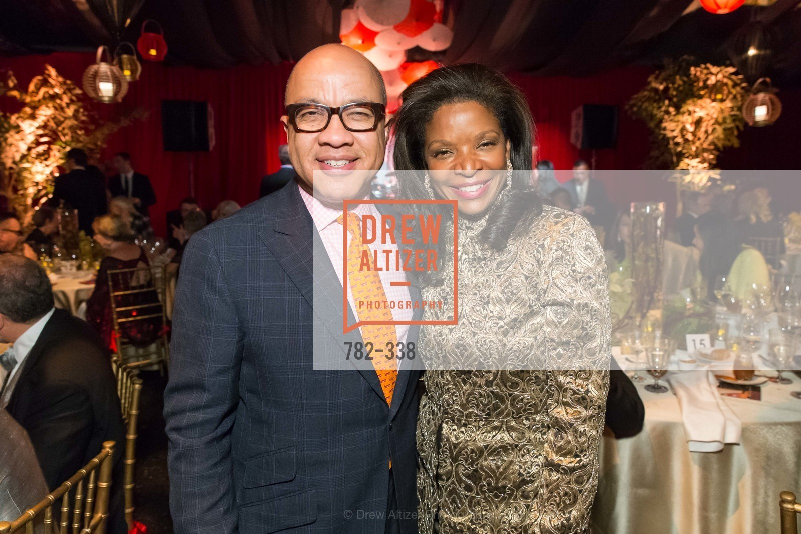 Darren Walker, Pamela Joyner, Weill Hall  2015 Season Opening Gala At Sonoma State University, Sonoma State Green Music Center, Weill Hall. 1801 E Cotati Ave, October 3rd, 2015,Drew Altizer, Drew Altizer Photography, full-service event agency, private events, San Francisco photographer, photographer California