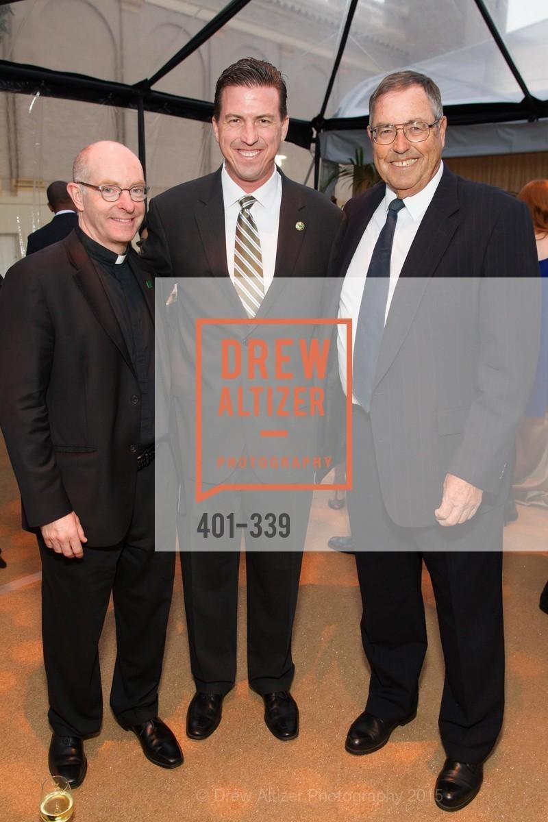 Paul Fitzgerald, Kevin Mullin, Gene Mullin, University of San Francisco Alumni Awards Gala 2015, University of San Francisco, October 2nd, 2015