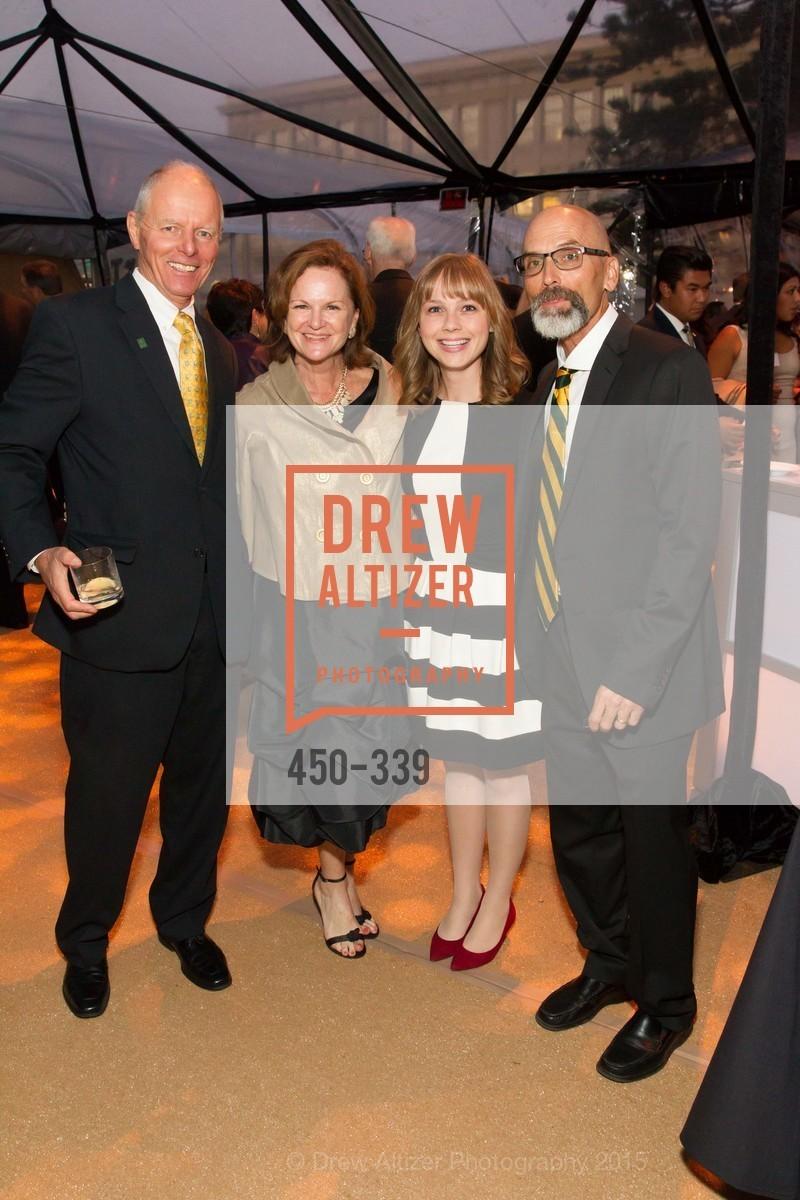 Dave Macmillan, Erin Doyle Ebeling, Lacey Lieberthal, Patrick Ebeling, University of San Francisco Alumni Awards Gala 2015, University of San Francisco, October 2nd, 2015
