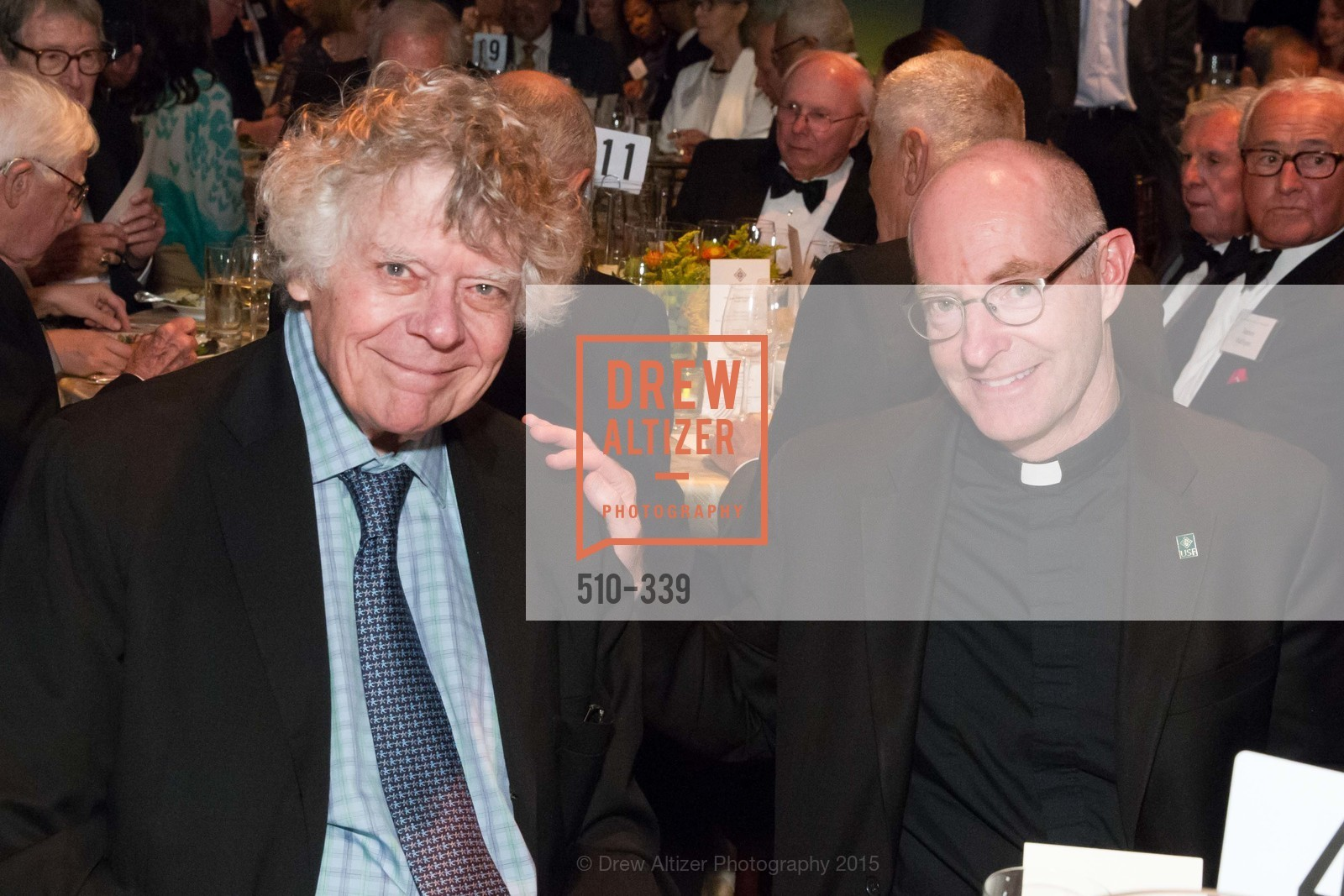Gordon Getty, Paul Fitzgerald, University of San Francisco Alumni Awards Gala 2015, University of San Francisco, October 2nd, 2015,Drew Altizer, Drew Altizer Photography, full-service agency, private events, San Francisco photographer, photographer california