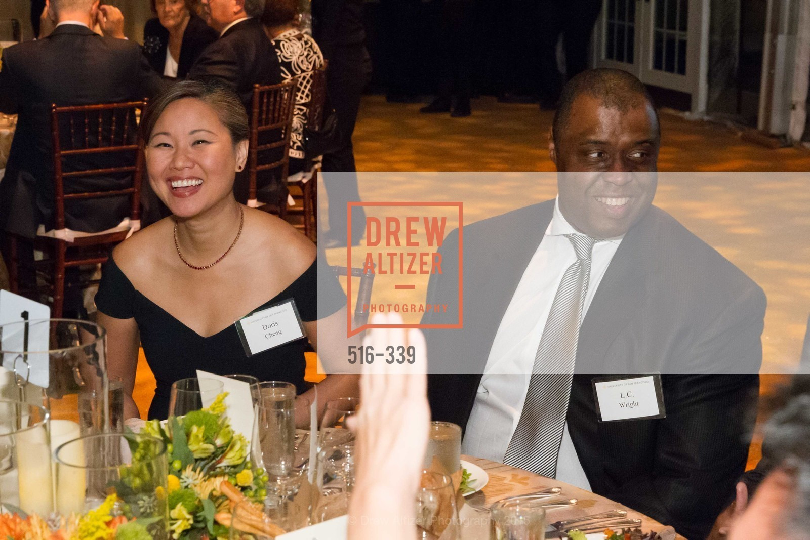 Doris Cheng, LC Wright, University of San Francisco Alumni Awards Gala 2015, University of San Francisco, October 2nd, 2015,Drew Altizer, Drew Altizer Photography, full-service agency, private events, San Francisco photographer, photographer california