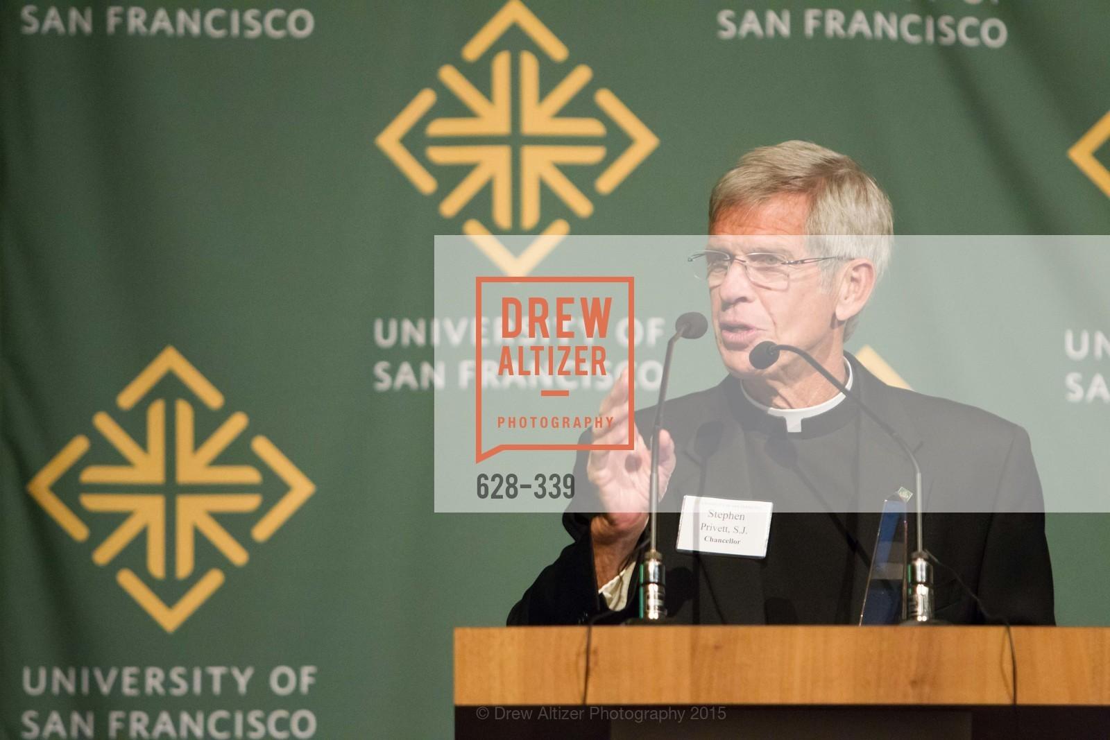 Stephen Privett, University of San Francisco Alumni Awards Gala 2015, University of San Francisco, October 2nd, 2015