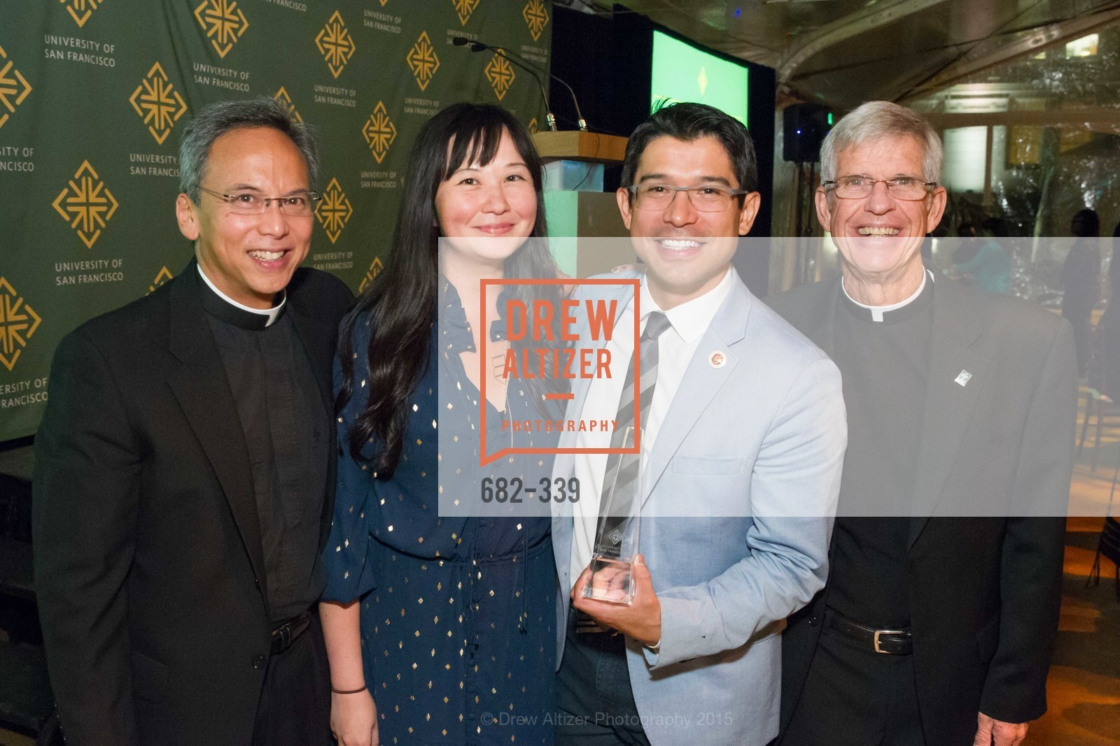 Sonny Manuel, Jen Zipp, Carlos Menchaca, Stephen Privett, University of San Francisco Alumni Awards Gala 2015, University of San Francisco, October 2nd, 2015,Drew Altizer, Drew Altizer Photography, full-service event agency, private events, San Francisco photographer, photographer California