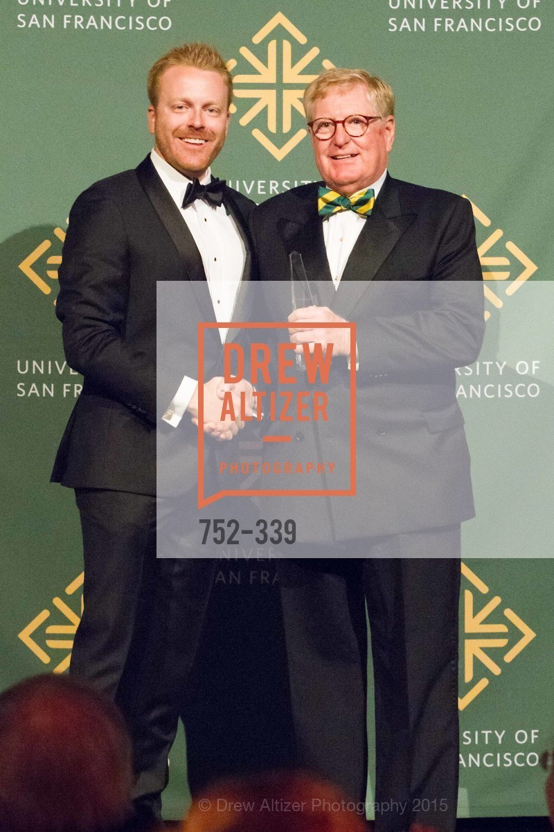 Jay Dillon, William Hollingsworth, University of San Francisco Alumni Awards Gala 2015, University of San Francisco, October 2nd, 2015,Drew Altizer, Drew Altizer Photography, full-service agency, private events, San Francisco photographer, photographer california