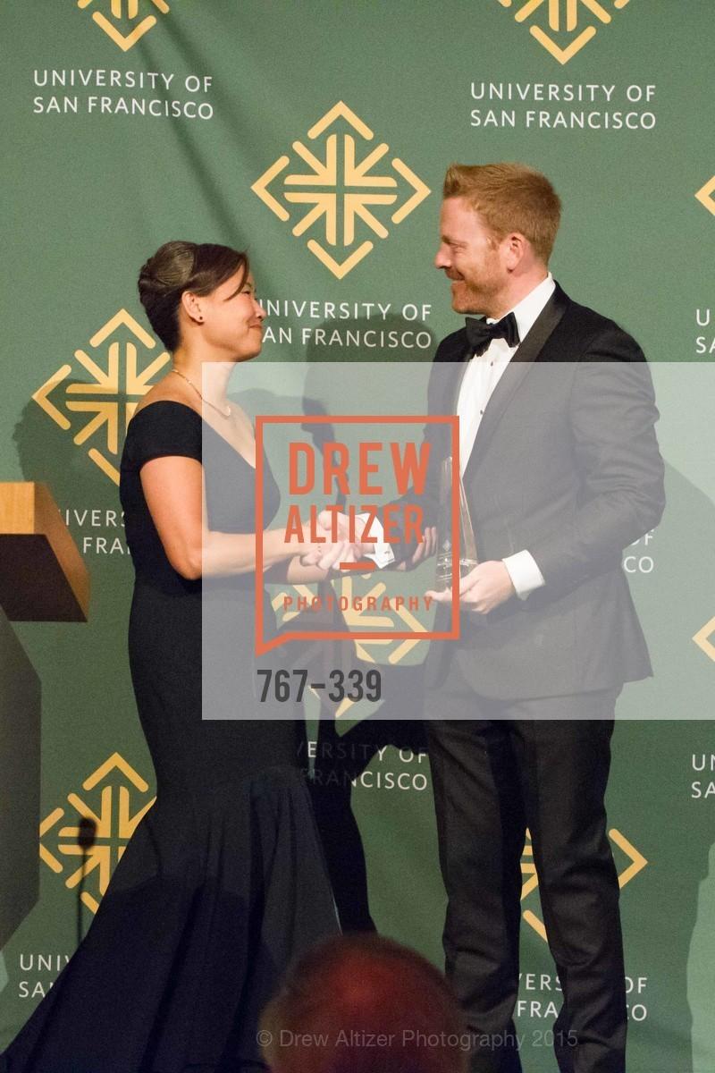Jay Dillon, Doris Cheng, University of San Francisco Alumni Awards Gala 2015, University of San Francisco, October 2nd, 2015