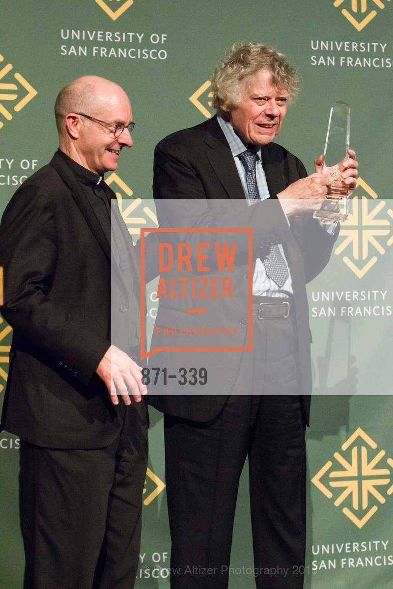 Paul Fitzgerald, Gordon Getty, University of San Francisco Alumni Awards Gala 2015, University of San Francisco, October 2nd, 2015,Drew Altizer, Drew Altizer Photography, full-service agency, private events, San Francisco photographer, photographer california