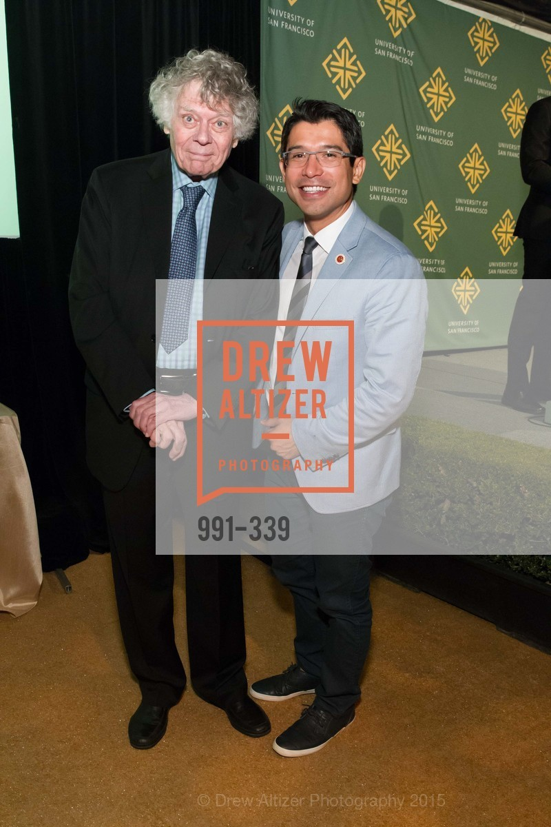 Gordon Getty, Carlos Menchaca, University of San Francisco Alumni Awards Gala 2015, University of San Francisco, October 2nd, 2015,Drew Altizer, Drew Altizer Photography, full-service agency, private events, San Francisco photographer, photographer california