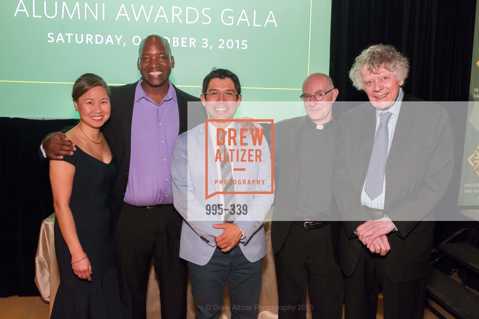 Doris Cheng, Aaron Horn, Carlos Menchaca, Paul Fitzgerald, Gordon Getty, University of San Francisco Alumni Awards Gala 2015, University of San Francisco, October 2nd, 2015,Drew Altizer, Drew Altizer Photography, full-service agency, private events, San Francisco photographer, photographer california