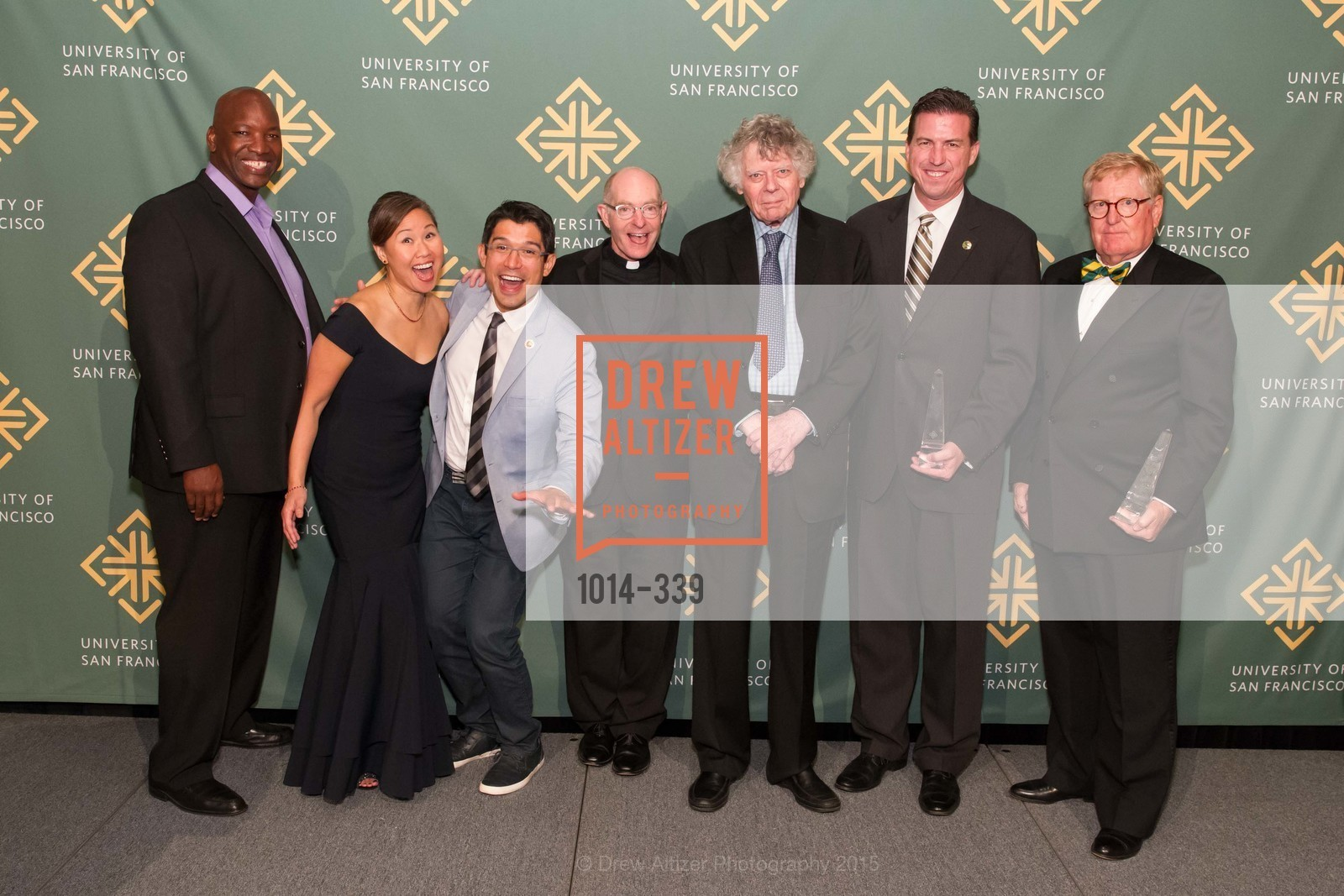 Aaron Horn, Doris Cheng, Carlos Menchaca, Paul Fitzgerald, Gordon Getty, Kevin Mullin, William Hollingsworth, University of San Francisco Alumni Awards Gala 2015, University of San Francisco, October 2nd, 2015,Drew Altizer, Drew Altizer Photography, full-service agency, private events, San Francisco photographer, photographer california