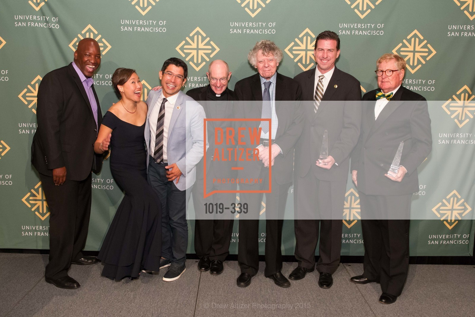 Aaron Horn, Doris Cheng, Carlos Menchaca, Paul Fitzgerald, Gordon Getty, Kevin Mullin, William Hollingsworth, University of San Francisco Alumni Awards Gala 2015, University of San Francisco, October 2nd, 2015,Drew Altizer, Drew Altizer Photography, full-service event agency, private events, San Francisco photographer, photographer California