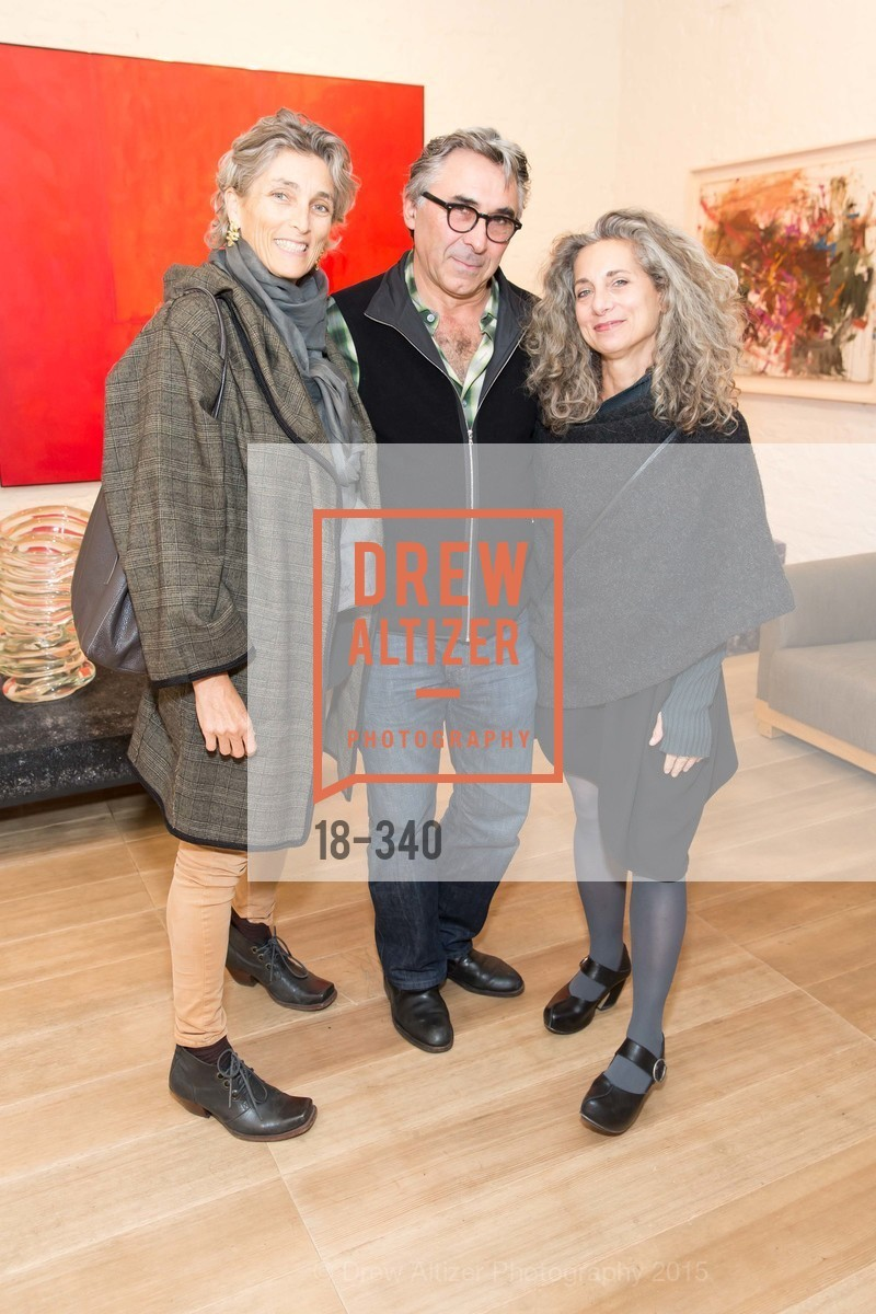 Kathy Clausner, Beni Strebel, Frish Brandt, Post War and Contemporary Art Preview, Hedge Gallery, October 2nd, 2015,Drew Altizer, Drew Altizer Photography, full-service agency, private events, San Francisco photographer, photographer california