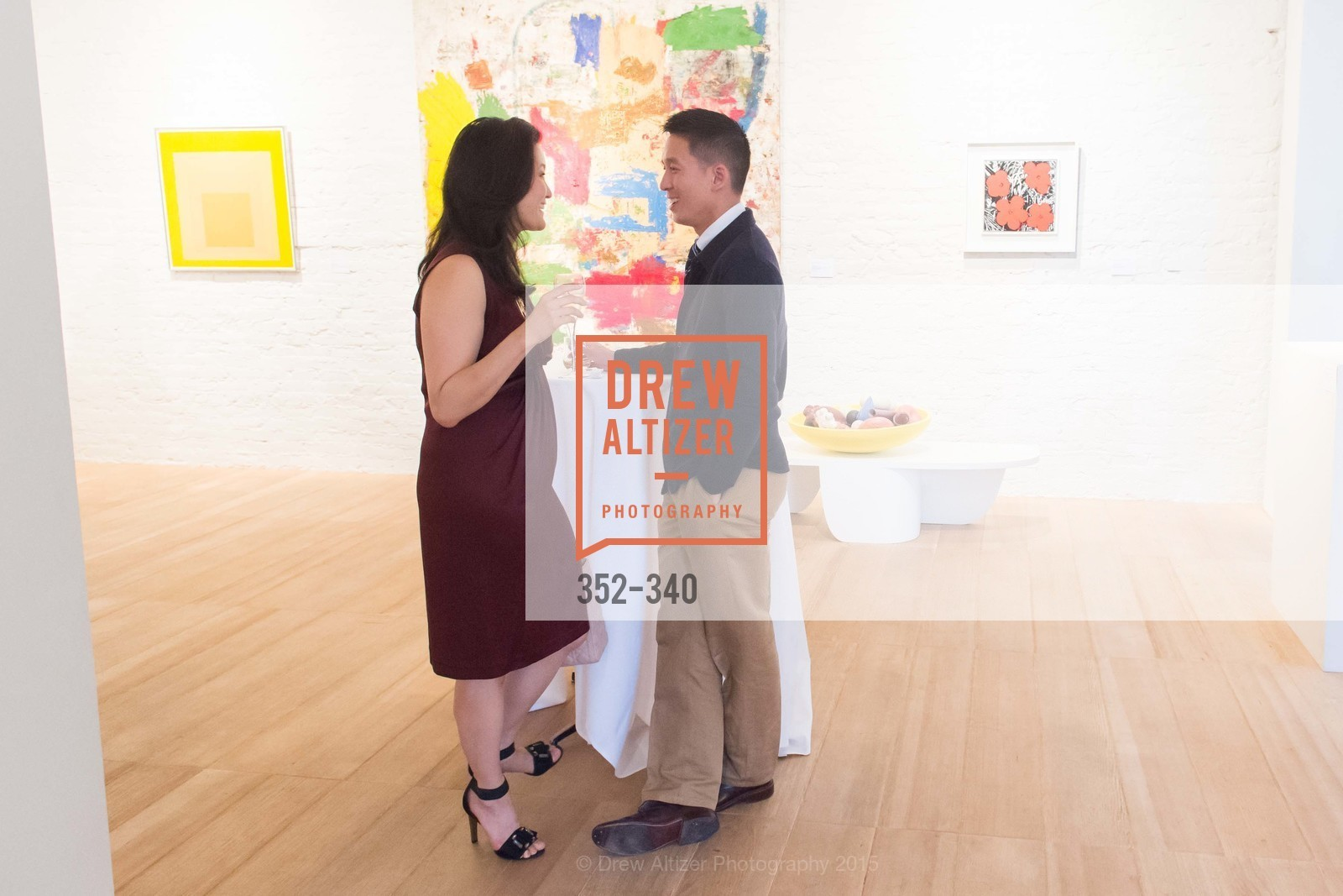 Catherine Kwong, Brian Kwong, Post War and Contemporary Art Preview, Hedge Gallery, October 2nd, 2015,Drew Altizer, Drew Altizer Photography, full-service agency, private events, San Francisco photographer, photographer california