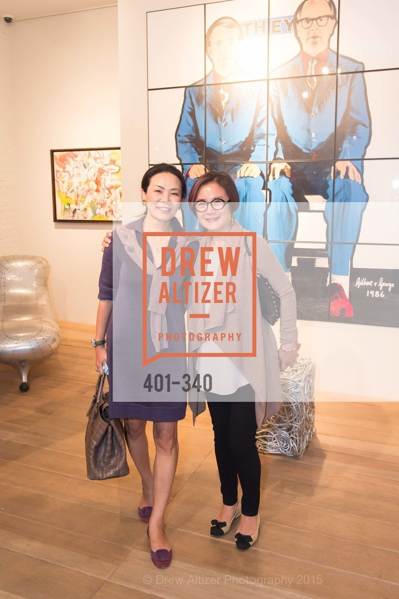 Xiaojun Lee, Grace Shen, Post War and Contemporary Art Preview, Hedge Gallery, October 2nd, 2015,Drew Altizer, Drew Altizer Photography, full-service agency, private events, San Francisco photographer, photographer california