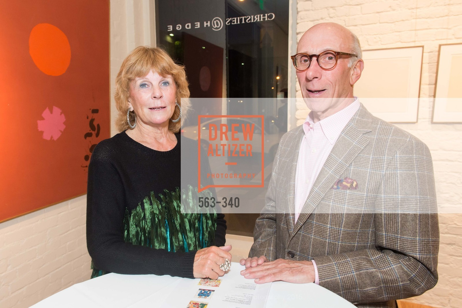 Susan Coulter, David Coulter, Post War and Contemporary Art Preview, Hedge Gallery, October 2nd, 2015,Drew Altizer, Drew Altizer Photography, full-service agency, private events, San Francisco photographer, photographer california