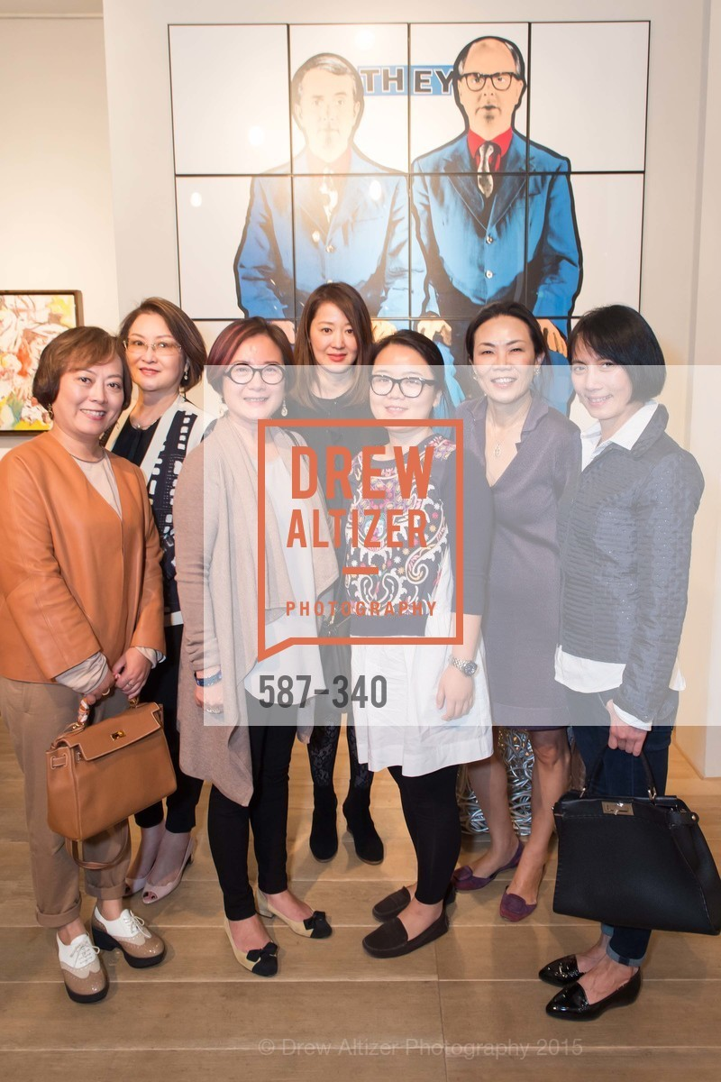 Sally Ren, Grace Shen, Danqing Li, Xiaojun Lee, Post War and Contemporary Art Preview, Hedge Gallery, October 2nd, 2015,Drew Altizer, Drew Altizer Photography, full-service agency, private events, San Francisco photographer, photographer california