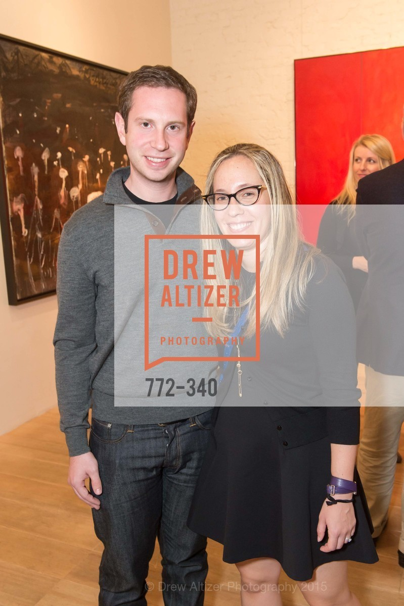 Josh Miller, Nitzan Miller, Post War and Contemporary Art Preview, Hedge Gallery, October 2nd, 2015,Drew Altizer, Drew Altizer Photography, full-service agency, private events, San Francisco photographer, photographer california