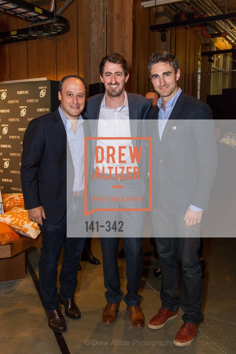Josh Goldin, Daniel Roberts, Trevor Nelson, Fortune's 40 Under 40 Party, GitHub HQ. 88 Colin P Kelly Jr St, October 7th, 2015,Drew Altizer, Drew Altizer Photography, full-service agency, private events, San Francisco photographer, photographer california