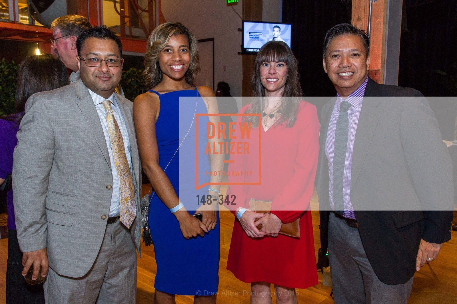 Raj Gupta, Nya Shaheed, Shelley Pratt, Carlo Vapor, Fortune's 40 Under 40 Party, GitHub HQ. 88 Colin P Kelly Jr St, October 7th, 2015,Drew Altizer, Drew Altizer Photography, full-service agency, private events, San Francisco photographer, photographer california