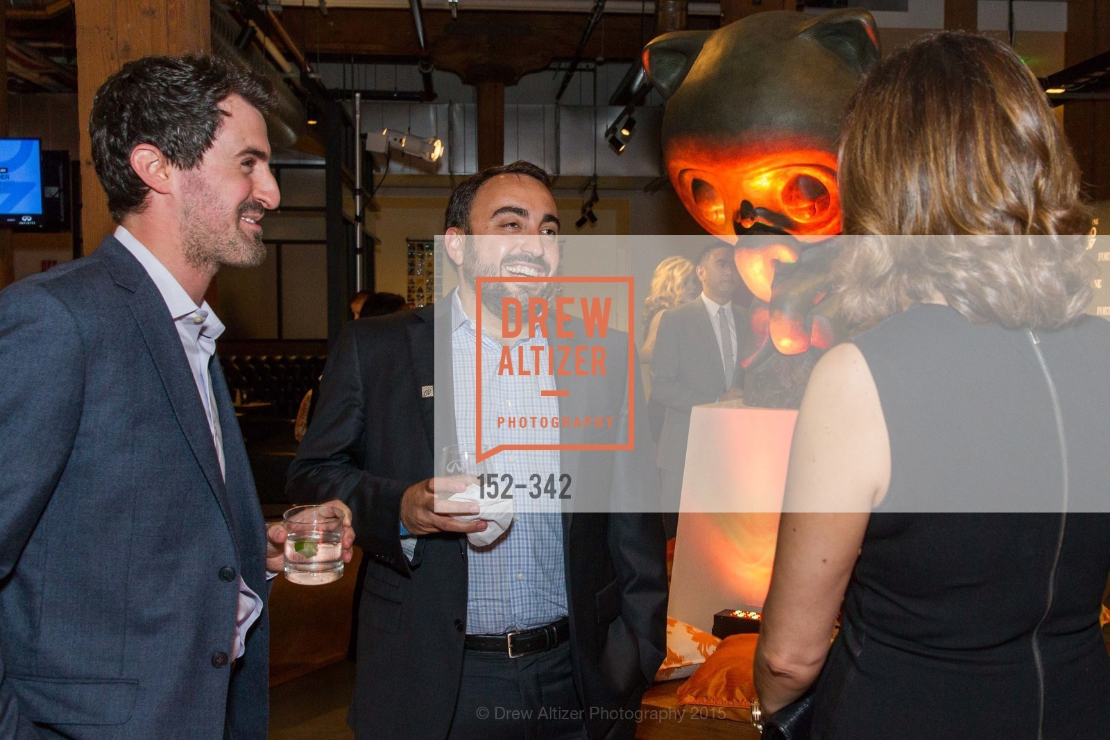 Daniel Roberts, Alex Stamos, Fortune's 40 Under 40 Party, GitHub HQ. 88 Colin P Kelly Jr St, October 7th, 2015,Drew Altizer, Drew Altizer Photography, full-service agency, private events, San Francisco photographer, photographer california