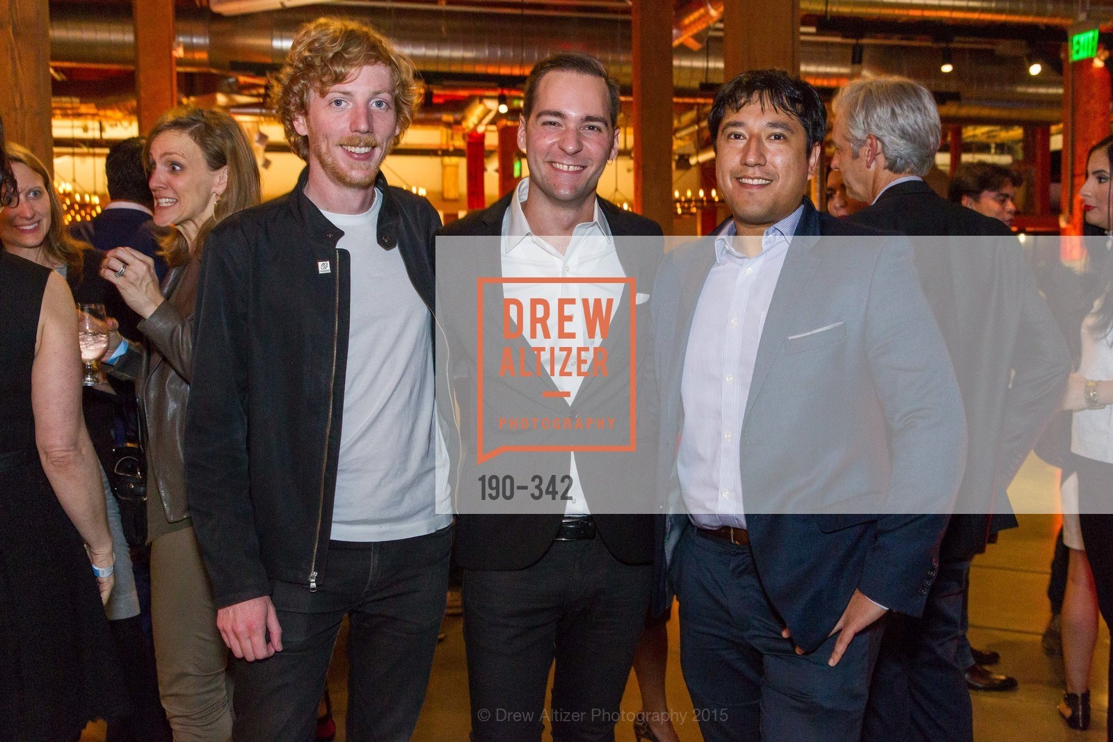 Chris Wanstrath, Andrew Nusca, Jonathan Vanian, Fortune's 40 Under 40 Party, GitHub HQ. 88 Colin P Kelly Jr St, October 7th, 2015,Drew Altizer, Drew Altizer Photography, full-service agency, private events, San Francisco photographer, photographer california