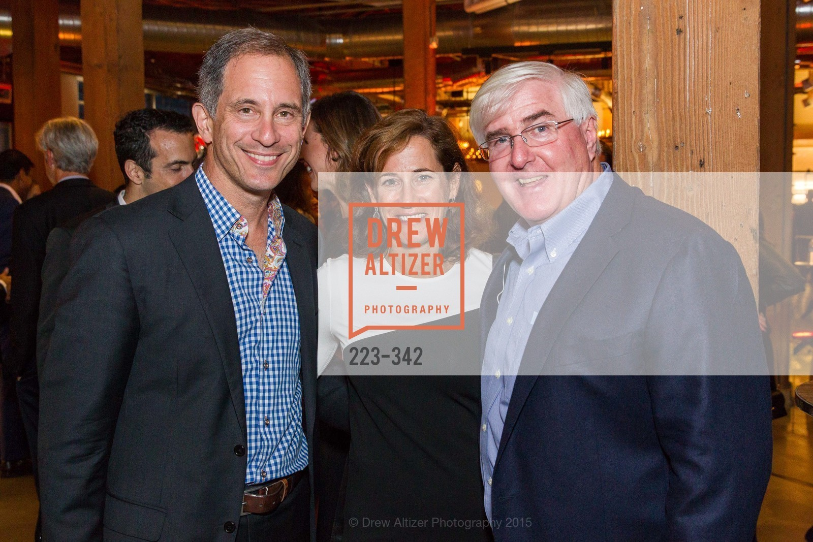 Adam Lashinsky, Ruth Kirschner, Ron Conway, Fortune's 40 Under 40 Party, GitHub HQ. 88 Colin P Kelly Jr St, October 7th, 2015,Drew Altizer, Drew Altizer Photography, full-service agency, private events, San Francisco photographer, photographer california