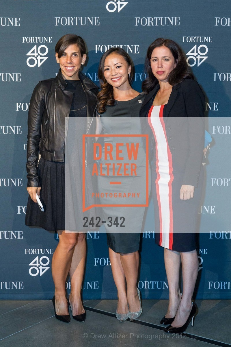 Michelle Whelan, Karen Fang, Michal Lev-Ram, Fortune's 40 Under 40 Party, GitHub HQ. 88 Colin P Kelly Jr St, October 7th, 2015,Drew Altizer, Drew Altizer Photography, full-service agency, private events, San Francisco photographer, photographer california
