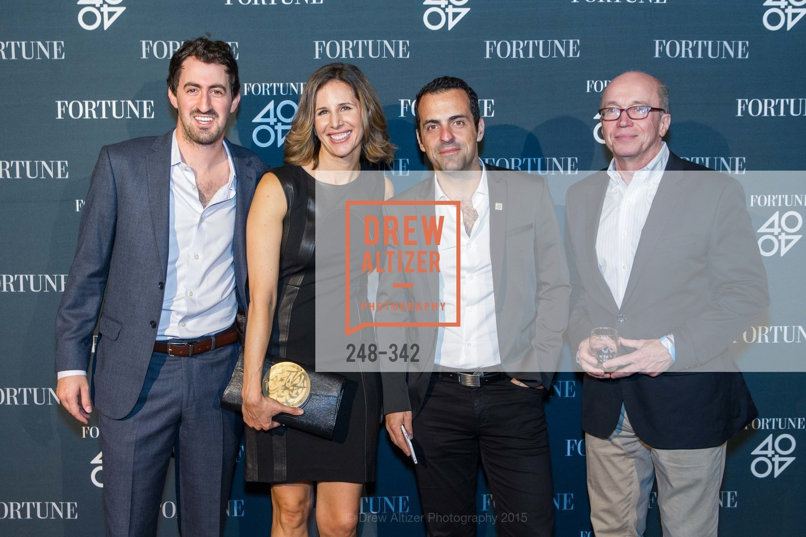 Dabiel Roberts, Leigh Gallagher, Hugo Barra, Alan Murray, Fortune's 40 Under 40 Party, GitHub HQ. 88 Colin P Kelly Jr St, October 7th, 2015,Drew Altizer, Drew Altizer Photography, full-service agency, private events, San Francisco photographer, photographer california