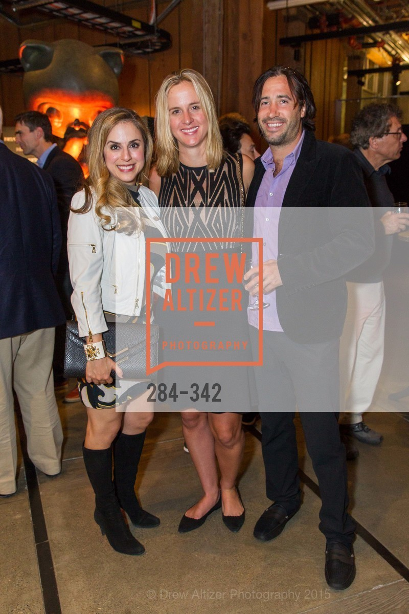 Michelle Dipp, Lisa Falzone, Chris Ciabarra, Fortune's 40 Under 40 Party, GitHub HQ. 88 Colin P Kelly Jr St, October 7th, 2015,Drew Altizer, Drew Altizer Photography, full-service agency, private events, San Francisco photographer, photographer california