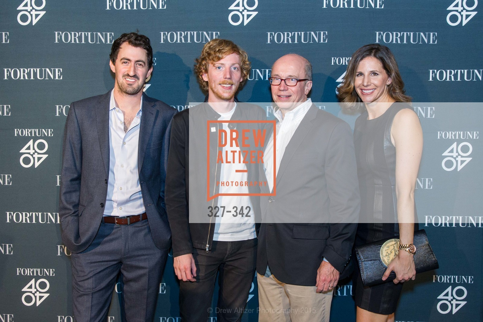 Daniel Roberts, Chris Wanstrath, Alan Murray, Leigh Gallagher, Fortune's 40 Under 40 Party, GitHub HQ. 88 Colin P Kelly Jr St, October 7th, 2015,Drew Altizer, Drew Altizer Photography, full-service agency, private events, San Francisco photographer, photographer california