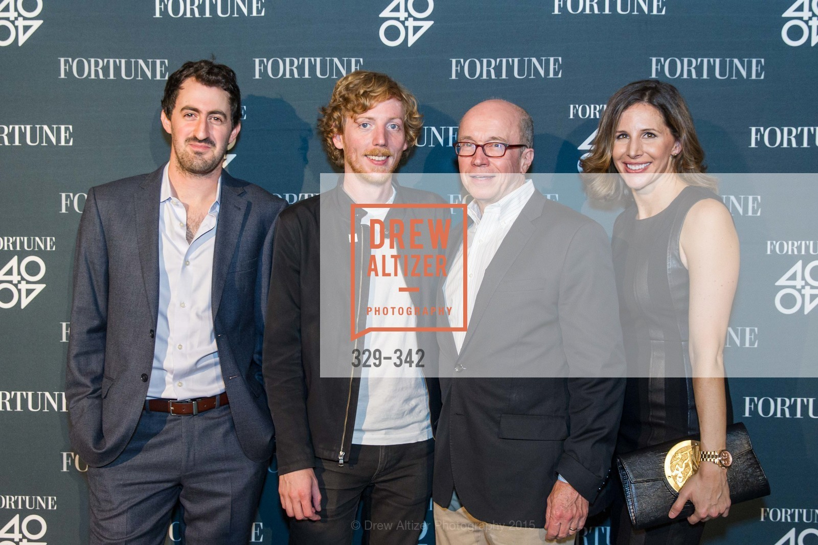 Daniel Roberts, Chris Wanstrath, Alan Murray, Leigh Gallagher, Fortune's 40 Under 40 Party, GitHub HQ. 88 Colin P Kelly Jr St, October 7th, 2015,Drew Altizer, Drew Altizer Photography, full-service event agency, private events, San Francisco photographer, photographer California
